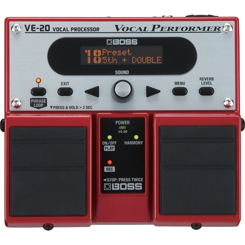 harga BOSS Vocal Effect Vocal Performer [VE-20] Bhinneka.Com